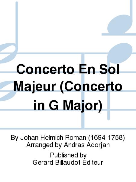 Concerto En Sol Majeur (Concerto in G Major)