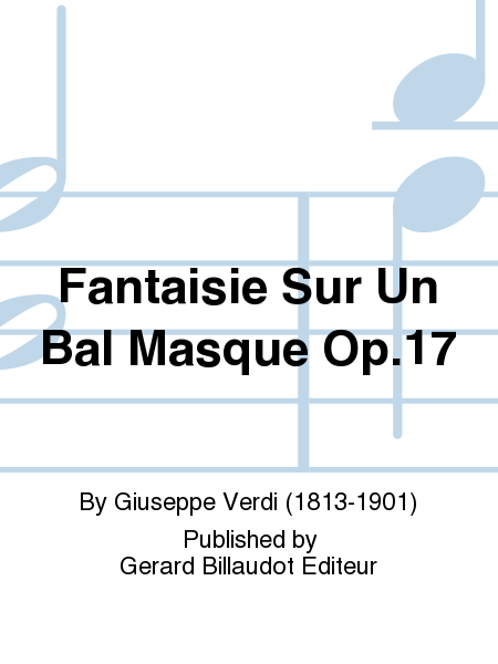Fantaisie Sur Un Bal Masque Op.17