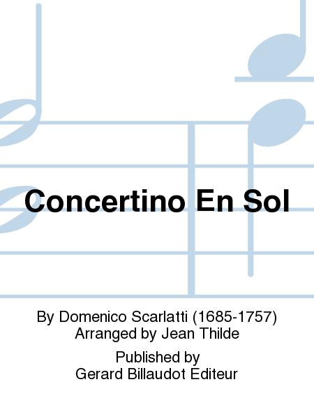 Concertino En Sol
