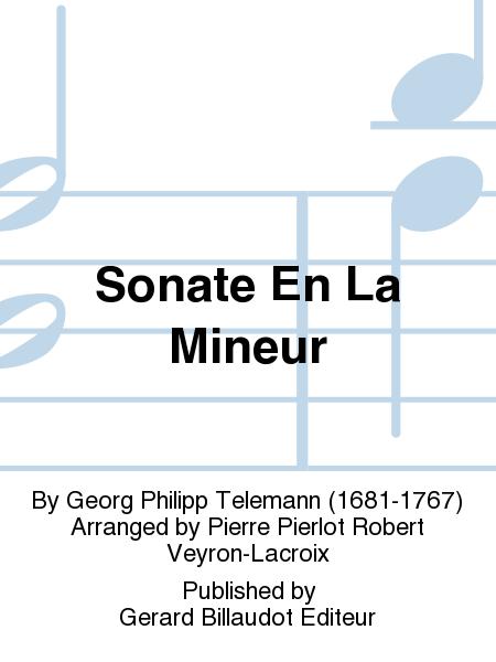 Sonate En La Mineur