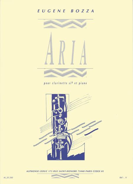 Aria - Clarinette Sib et Piano