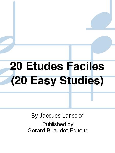 20 Etudes Faciles (20 Easy Studies)
