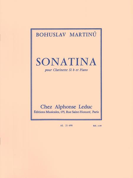 Sonatina - Clarinette Sib et Piano