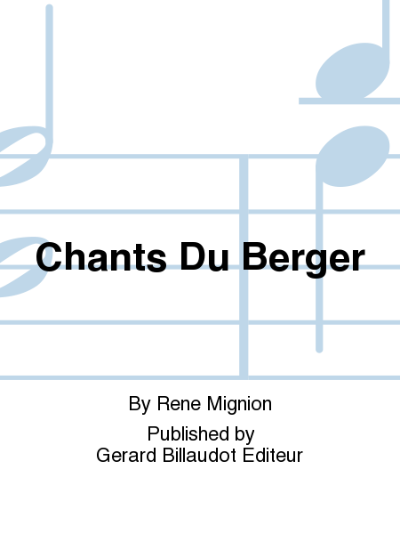 Chants Du Berger