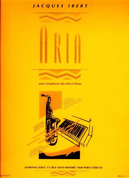 Aria - Saxophone Mib et Piano