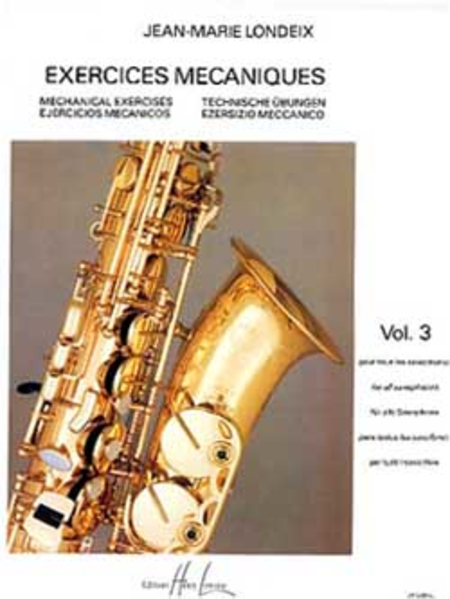 Exercices Mecaniques - Volume 3