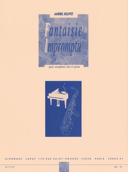 Fantaisie Impromptu - Saxophone Mib Et Piano