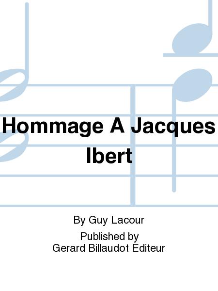 Hommage A Jacques Ibert