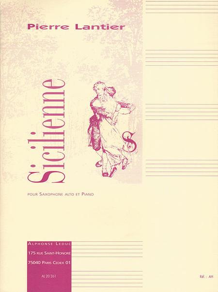 Sicilienne - Saxophone Mib et Piano