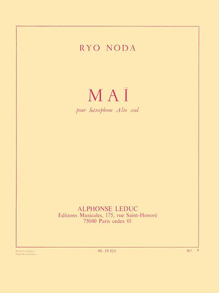 Mai - Saxophone Mib Seul