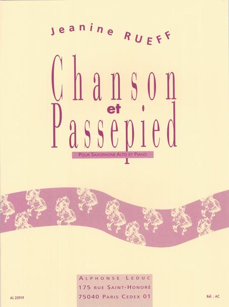 Chanson et Passepied Op16 - Saxophone Mib et Piano