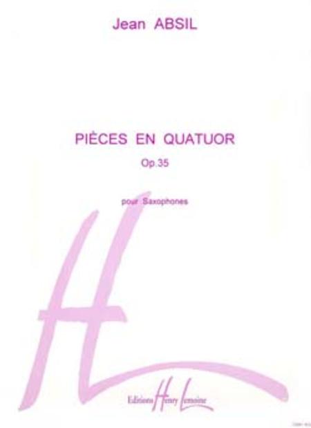 Pieces en quatuor Op.35
