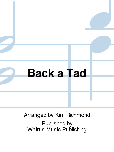Back a Tad