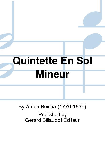 Quintette En Sol Mineur