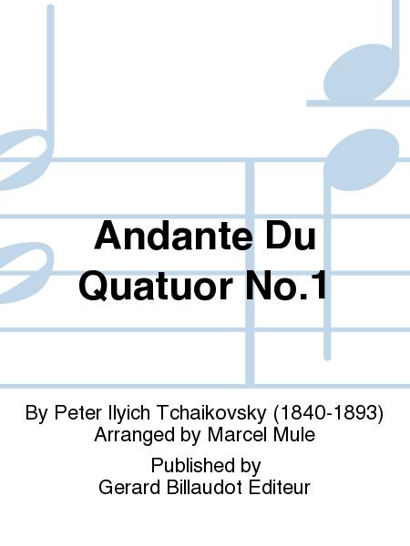 Andante du Quatuor No.1