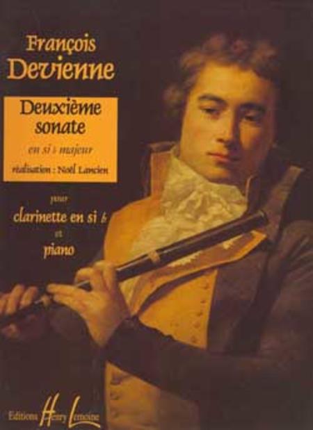 Sonate no. 2 en Sib maj.