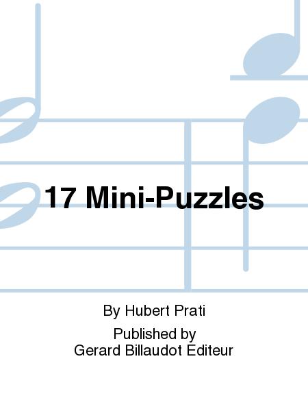 17 Mini-Puzzles