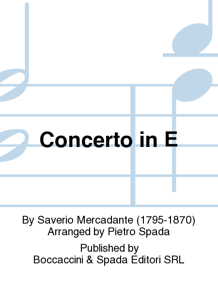 Concerto in E