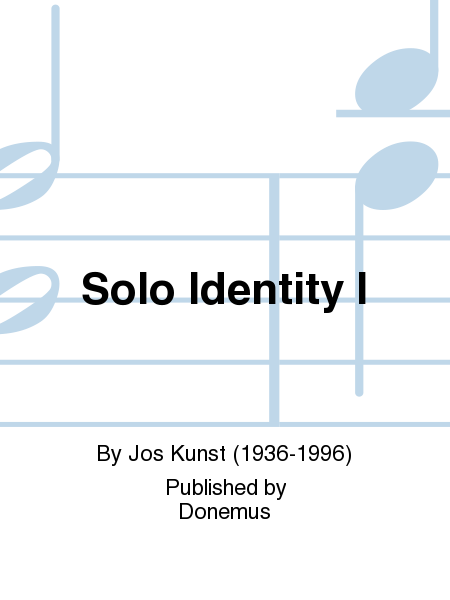 Solo Identity I