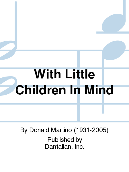 With Little Children In Mind