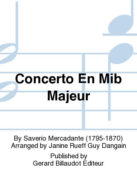 Concerto En Mib Majeur