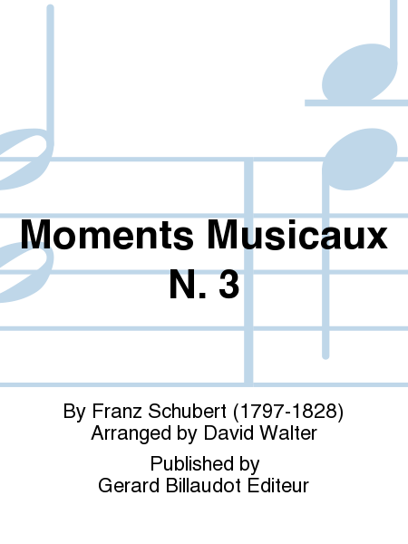 Moments Musicaux No.3