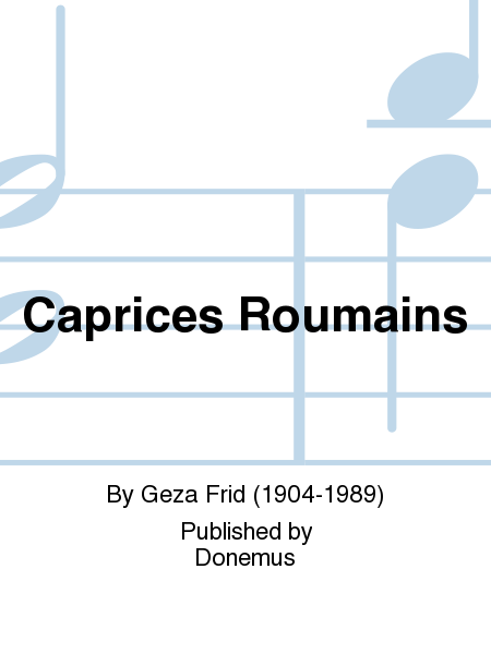Caprices Roumains