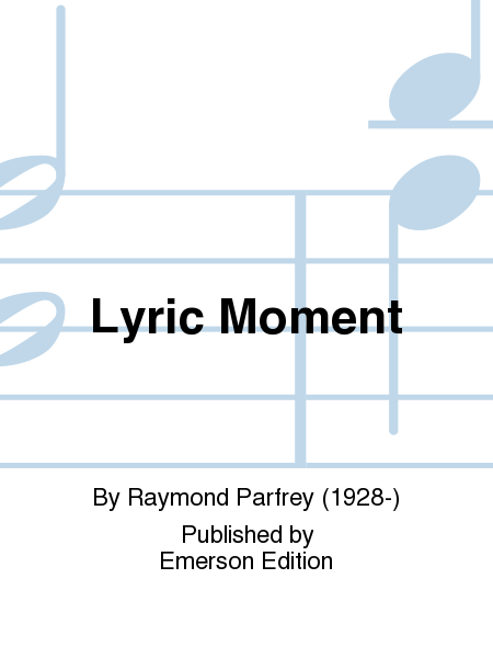 Lyric Moment
