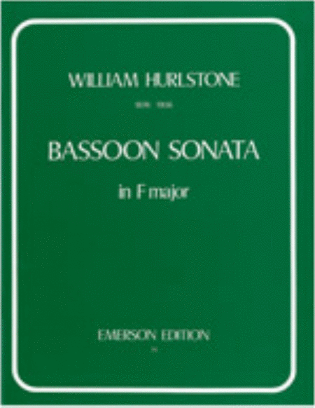 Bassoon Sonata In F