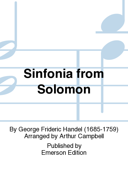 Sinfonia from Solomon