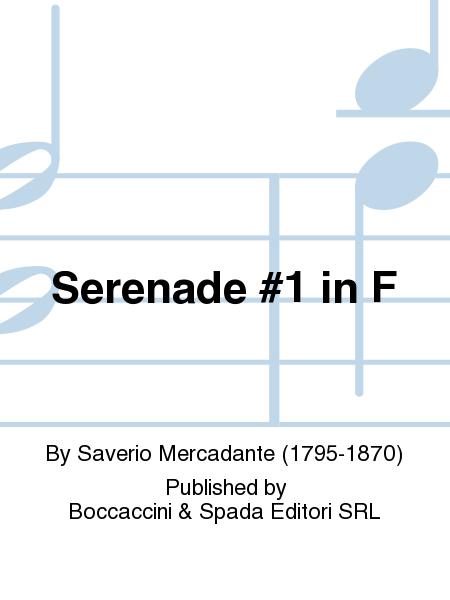 Serenade #1 in F