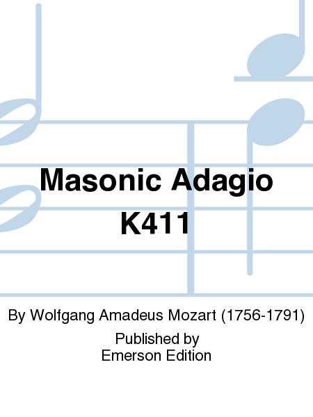 Masonic Adagio K411