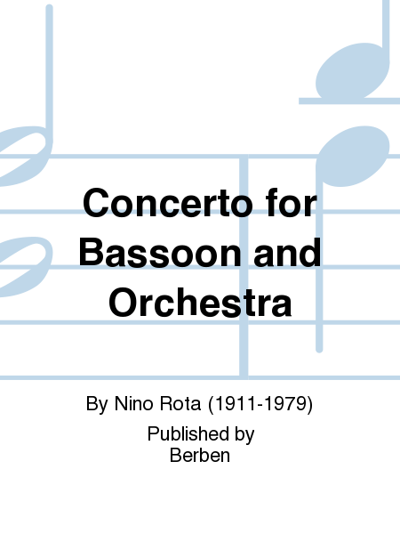 Concerto For Bassoon And Orchestra