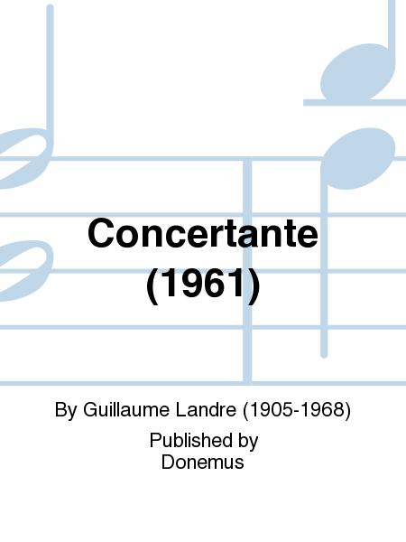 Concertante (1961)