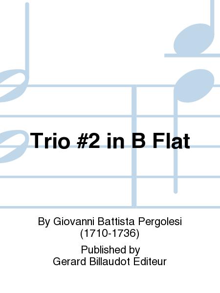Trio #2 in B Flat