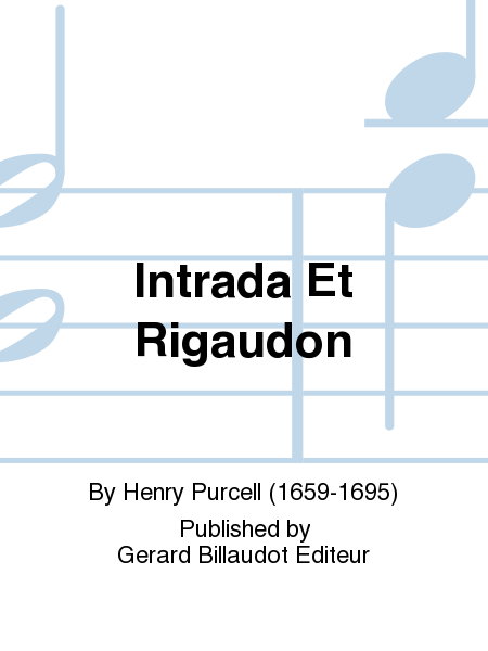 Intrada Et Rigaudon