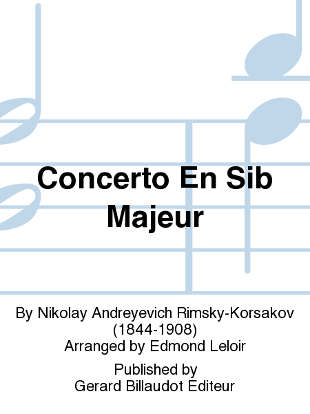Concerto En Sib Majeur