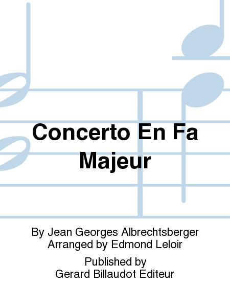Concerto En Fa Majeur