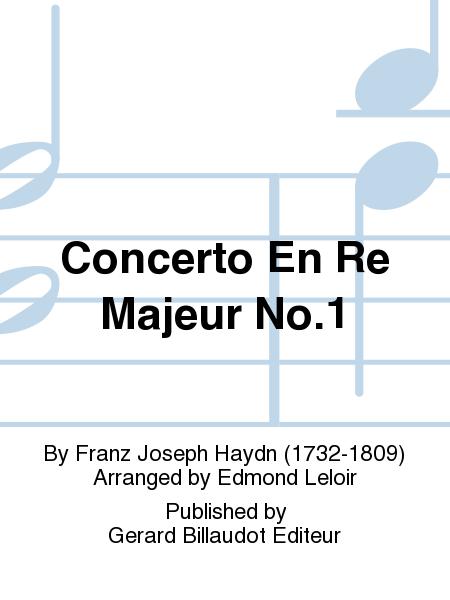 Concerto en Re Majeur No.1