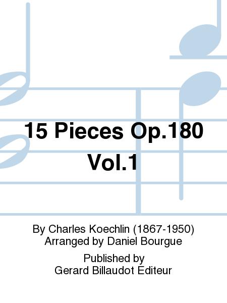 15 Pieces Op.180 Vol.1