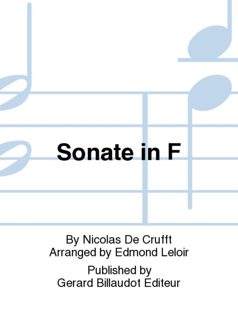 Sonate in F