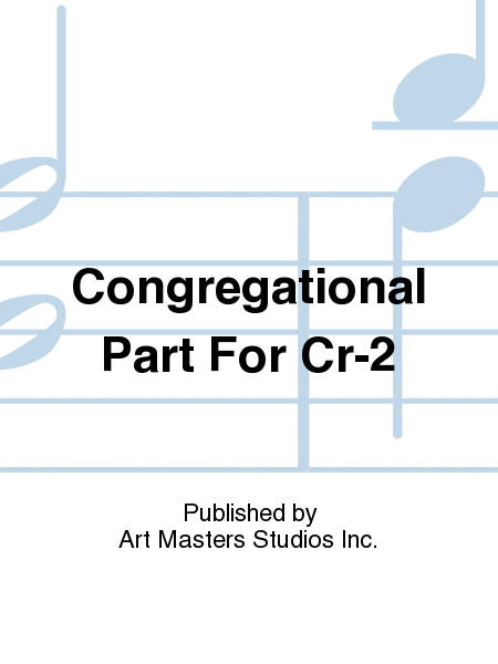 Congregational Part For Cr-2
