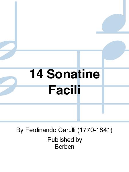 14 Sonatine Facili