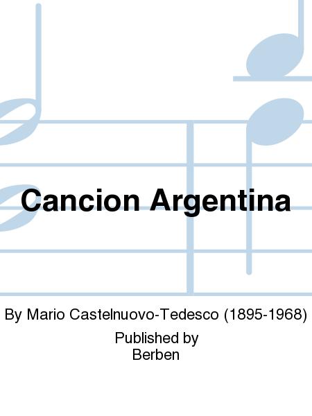 Cancion Argentina