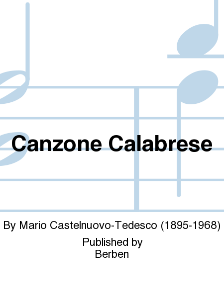 Canzone Calabrese
