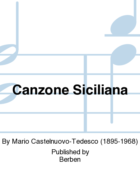 Canzone Siciliana