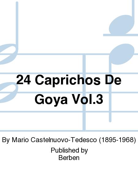 24 Caprichos de Goya Vol.3