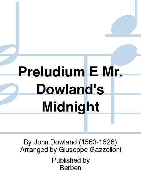 Preludium E Mr. Dowland's Midnight