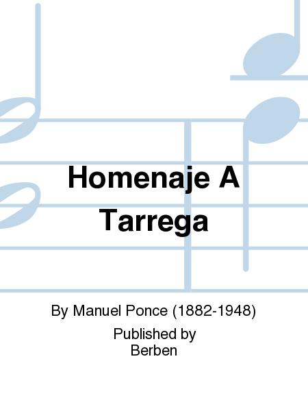 Homenaje A Tarrega