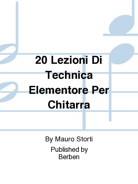 20 Lezioni Di Technica Elementore Per Chitarra